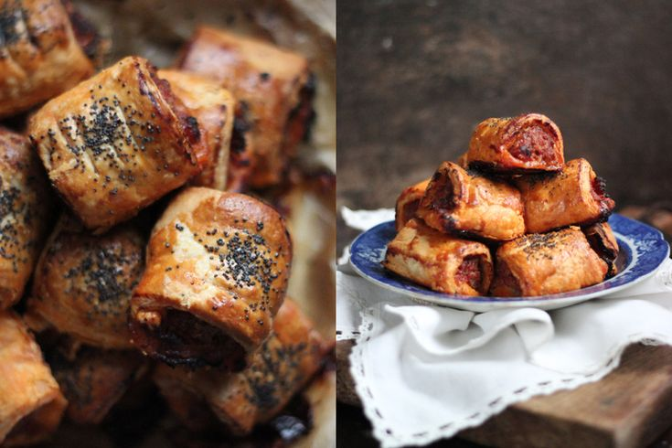 Chorizo Sausage Rolls with Honey | Party Time! | Pinterest