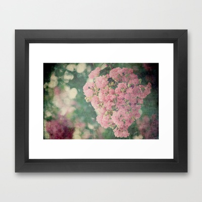 Much Happiness Framed Art Print by RDelean - $36.00