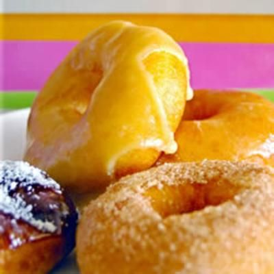 Crispy and Creamy Doughnuts | Food!!!!! | Pinterest