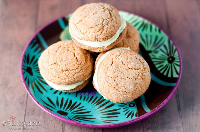 Soft Ginger Sandwich Cookies with Creamy Ginger-Orange Filling! Yummo ...