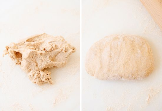 easiest whole wheat pizza dough ever // used 2 1/2 cups flour (not 2 3 ...