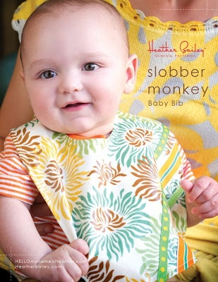 Bib pattern - so quick and easy, I made one in about 30 minutes this morning, and I sew very slowly.