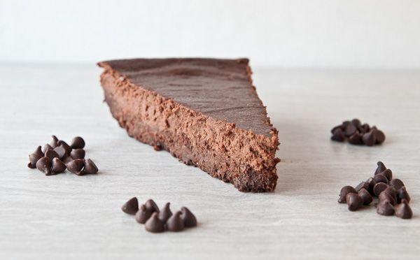 Triple Chocolate Flourless Brownie Bottom Cheesecake | Sensationally ...
