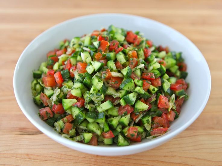 Sandra's Mexican Israeli Salad | Recipe