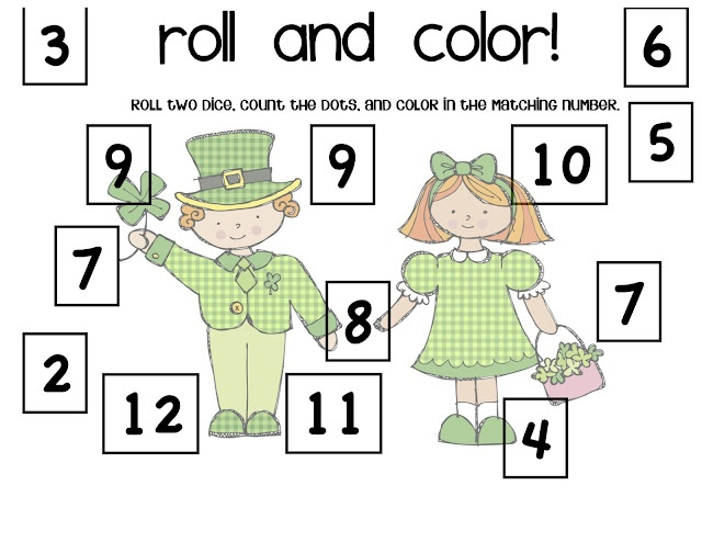 Roll and Color activity
