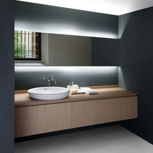 Elegant Bathroom Lighting Ideas Over Mirror Bathroom Mirror Lighting Ideas