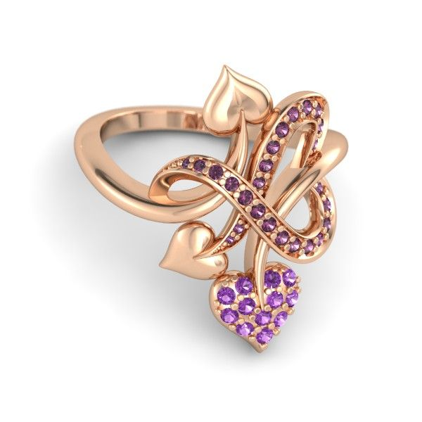 Rose Gold Rings: Rose Gold Rings 825