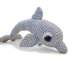 Amigurumi Dolphin Free : AMIGURUMI DOLPHIN CROCHET PATTERN Crochet Patterns Only