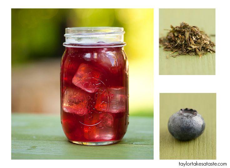 blueberry Ice tea   Coffee & Tea & Other Drinks   Pinterest