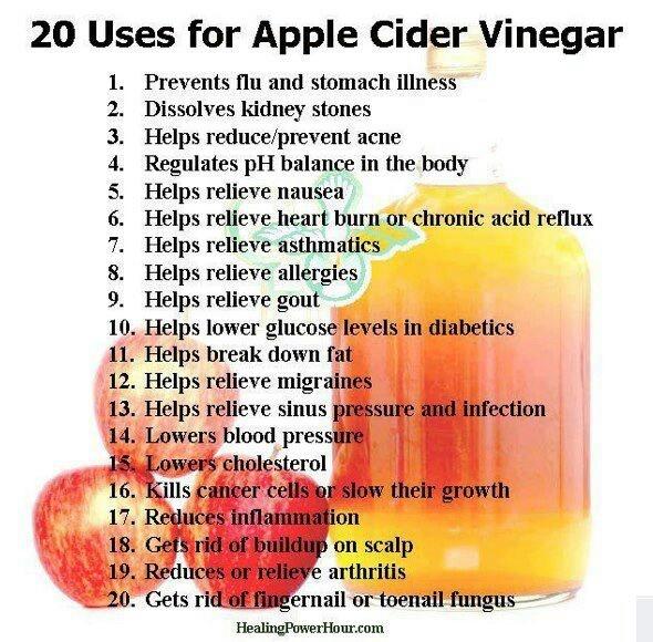 apple cider vinegar remedies and first aid pinterest