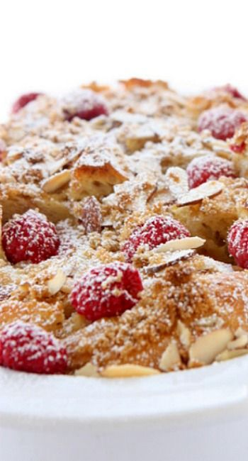 Baked Raspberry Almond French Toast | Recipe