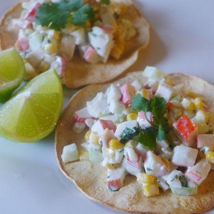 Crab Salad Tostadas | Fish | Pinterest