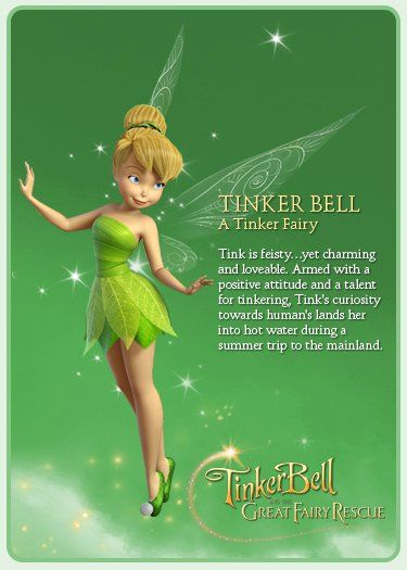 tinkerbell - the fix it fairy