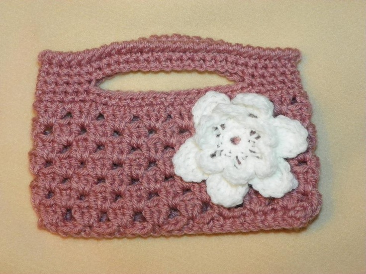 Crochet Mini Purse : Crocheted Mini Purse Things I Have Made Pinterest