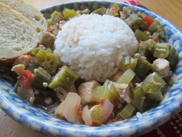 Okra and Chicken Stew | Food - Soups, Stews, and Chilis | Pinterest