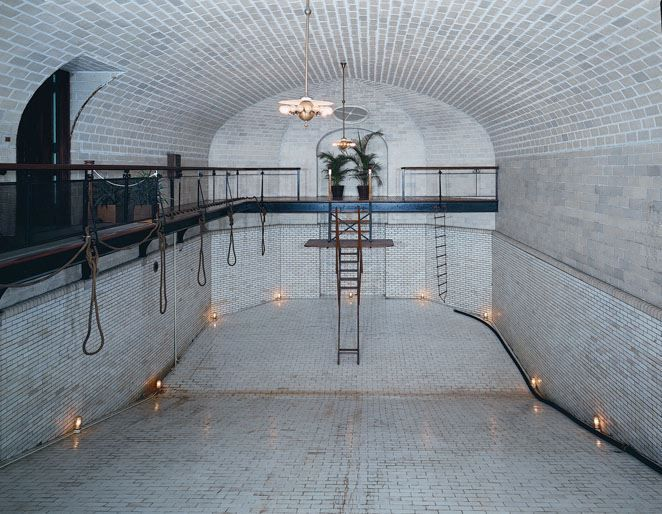 the indoor swimming pool way ahead of it 39 s time biltmore pinterest