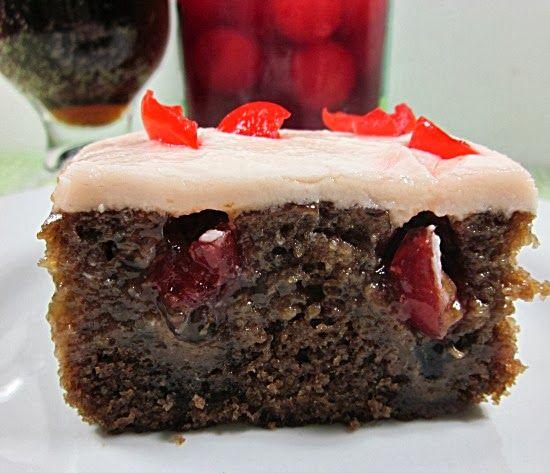 Chocolate Cherry Cola Poke Cake | Cakes | Pinterest