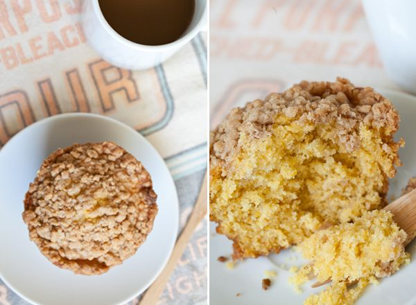 ... pumpkin muffins with cinnamon streusel Hi calorie but probably delish