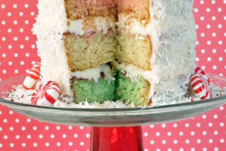 Neapolitan Christmas Cake | Cakes | Pinterest
