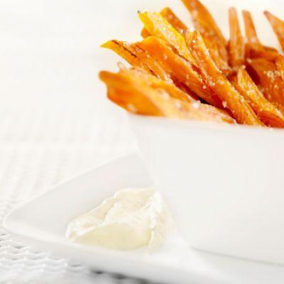 Curry Sweet Potato Fries #savvyfork #sweetpotato #fries