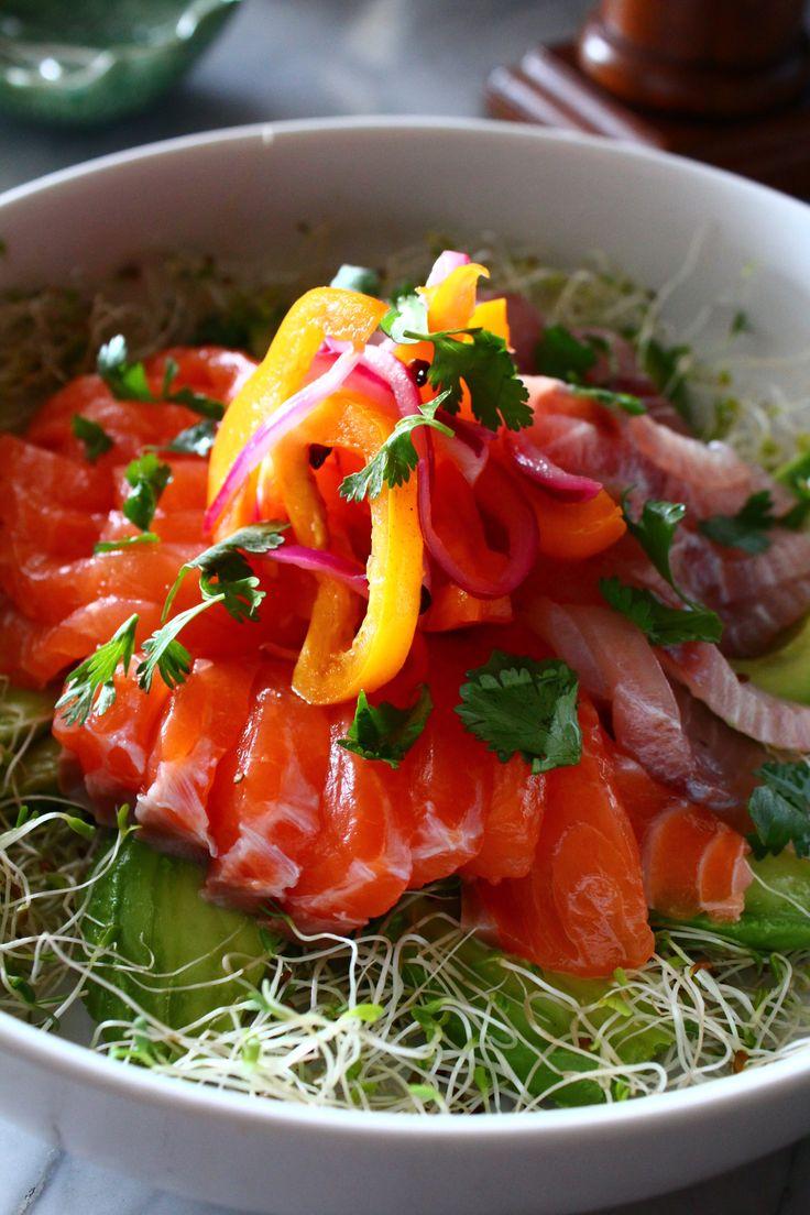 Sushi salad | My Inspiration foods | Pinterest