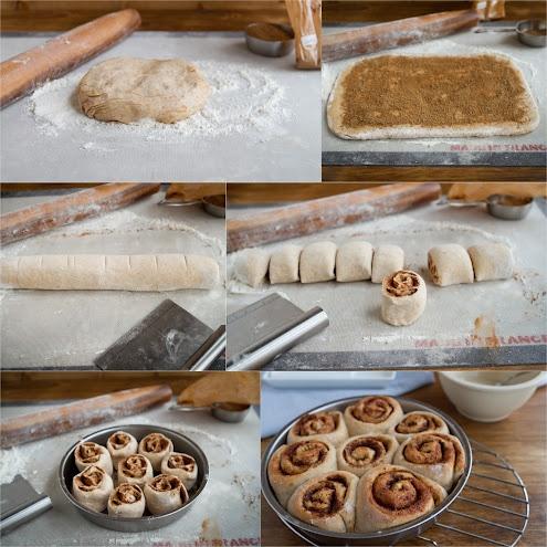 cinnamon rolls...my daughter really wants to take cinnamon rolls ...
