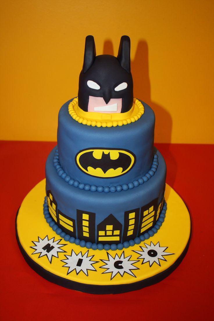 Torta Cake Design Batman : Batman / Cake / Fondant / Torta Batman Cake Ideas ...