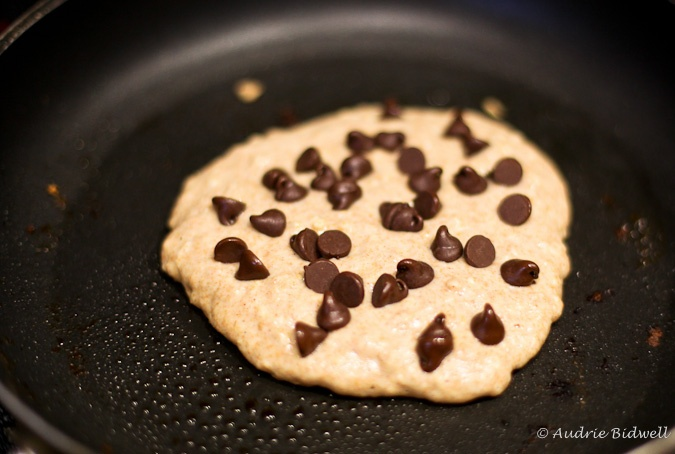 Chocolate Chip Oatmeal Pancakes | Breakfast Recipes to Try | Pinterest