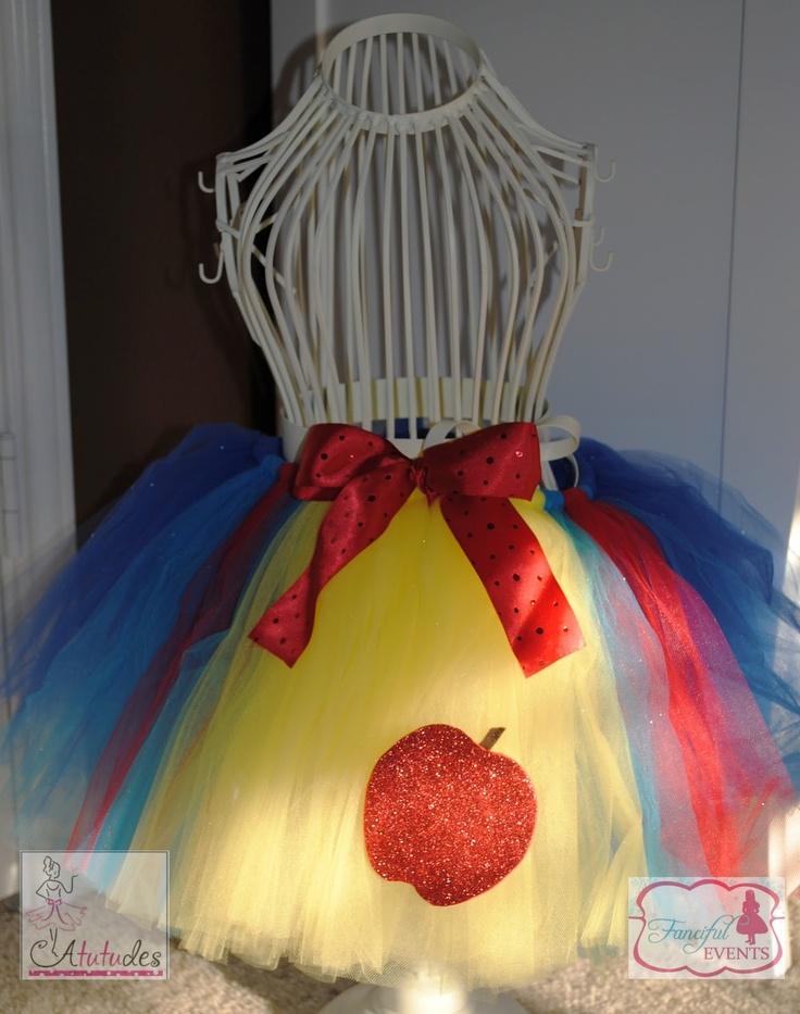 Snow White Theme: The Cutest Snow White TUTU!