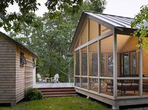 garage deck screened in venture thru the backdoor. Black Bedroom Furniture Sets. Home Design Ideas