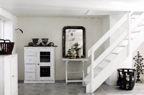 Ideeen Woonkamer Zwart Wit : ... woonkamer Interieur in grijs ...