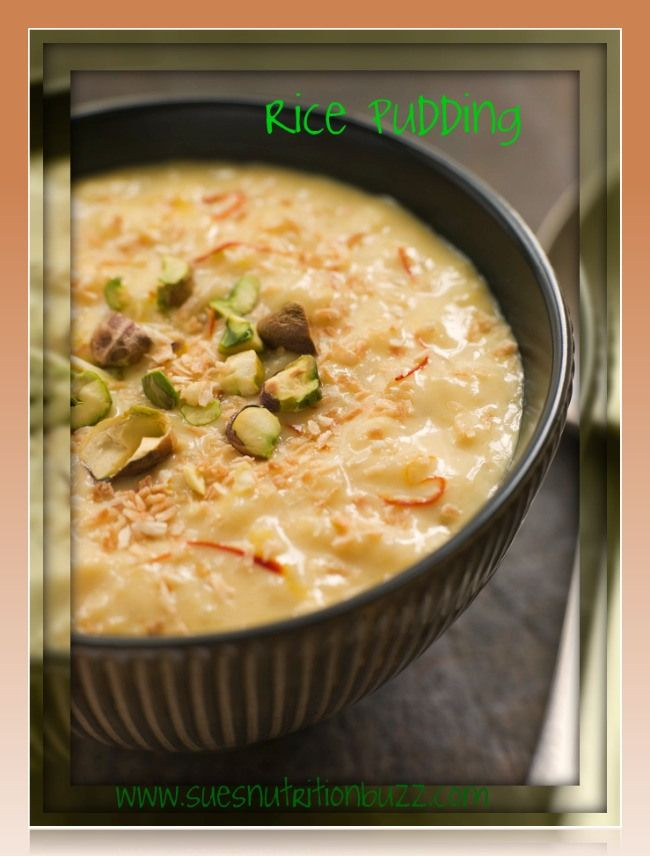 Coconut rice pudding | I will always love dessert | Pinterest