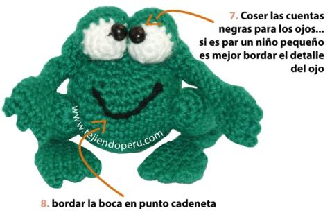 Tejiendo Peru Tutorial Amigurumi : Sapo - Tejiendo Per?... 03a_AMIGURUMI CROCHET Pinterest