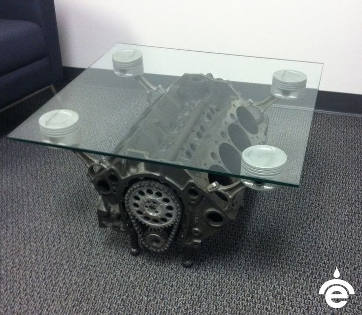Empire Engine Coffee Table Made From 69 Camaro