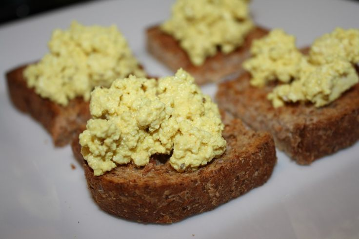 "Lemony Tofu ""Egg"" Salad Recipe — Dishmaps"