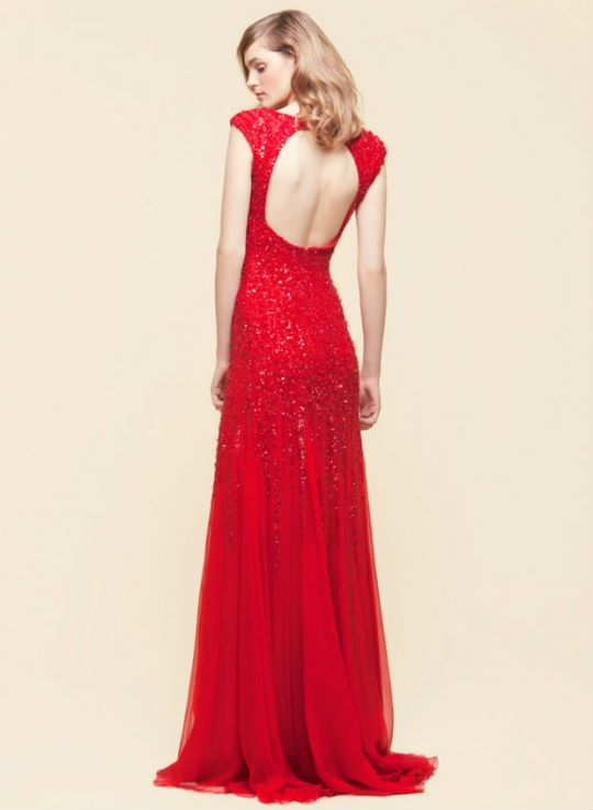 Red Wedding Dress - Elie Saab Resort 2012