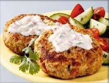 Indian-spiced turkey burgers | Poultry | Pinterest