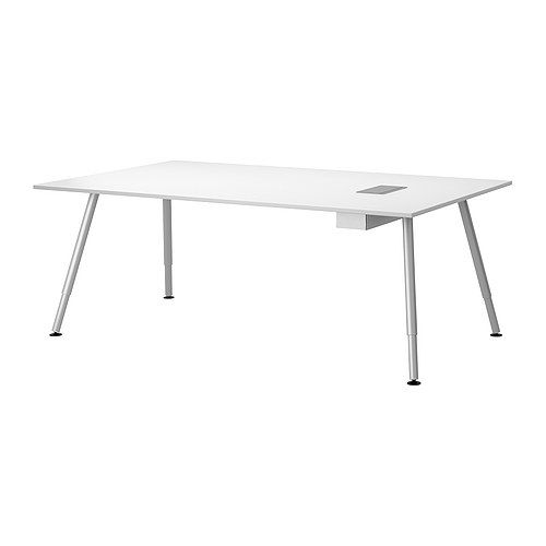 GALANT Conference table  white  IKEA  Design Sewing corner  Pinte