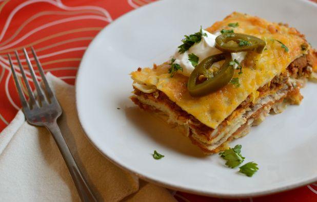 gluten free mexican lasagna   Gluten Free!   Pinterest