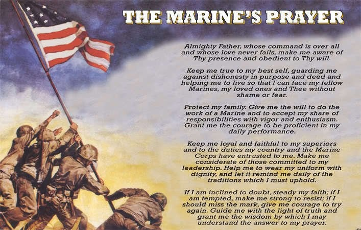 The Marine's Prayer | For Laura with Love | Pinterest