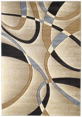 Love this rug pattern.