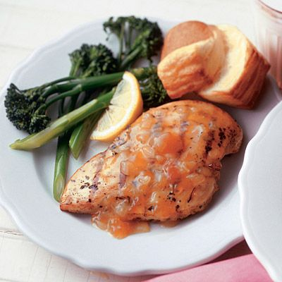 Apricot Honey Grilled Chicken | Recipe