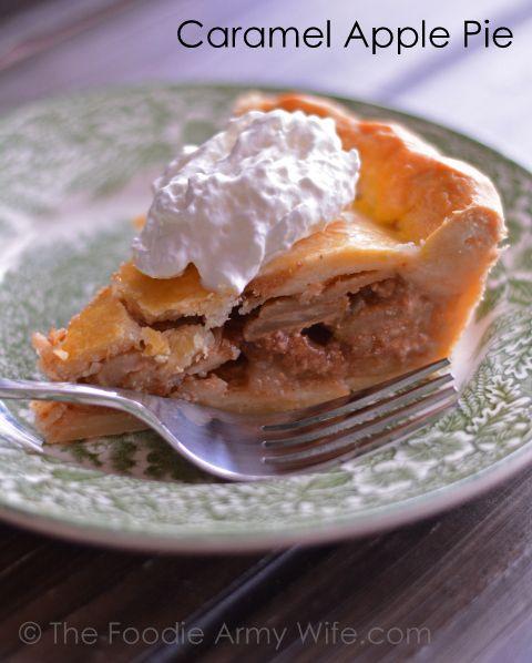 Caramel Apple Pie | Great Recipes | Pinterest