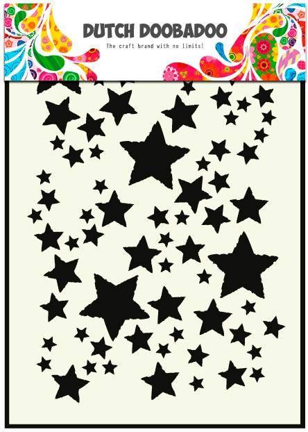 470.715. Dutch Doobadoo Mask Art Stars