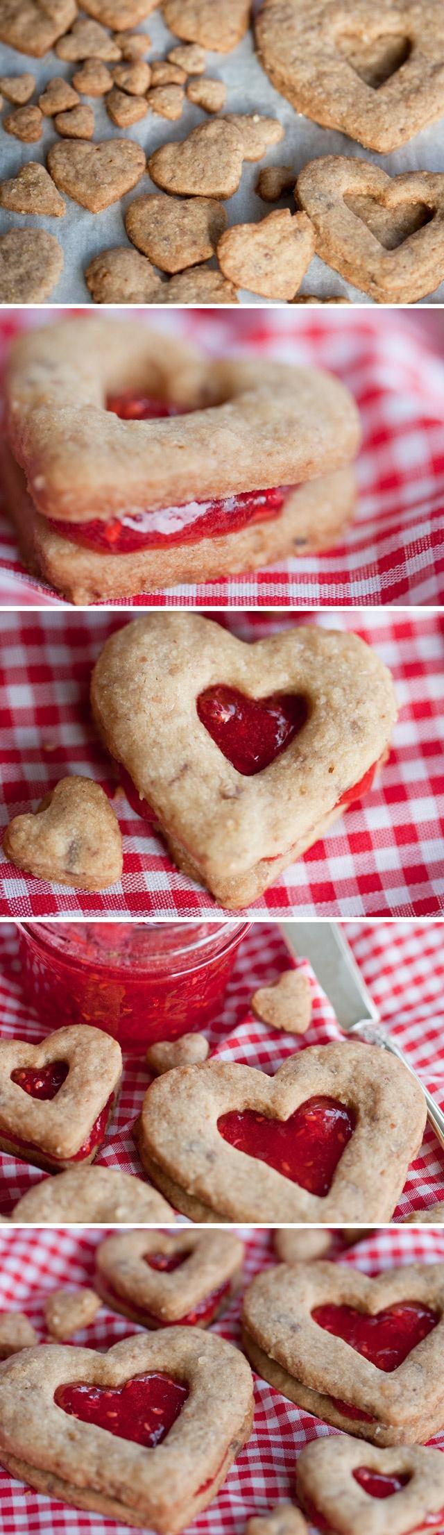 Linzer cookies | dessert 4u | Pinterest
