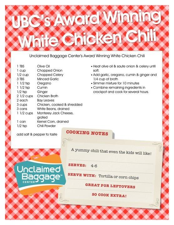 White Chili   Recipes I want to try.   Pinterest