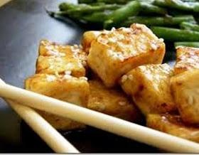 Delish Orange Glazed Tofu | yummy | Pinterest