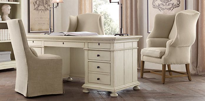 home office restoration hardware for the home pinterest