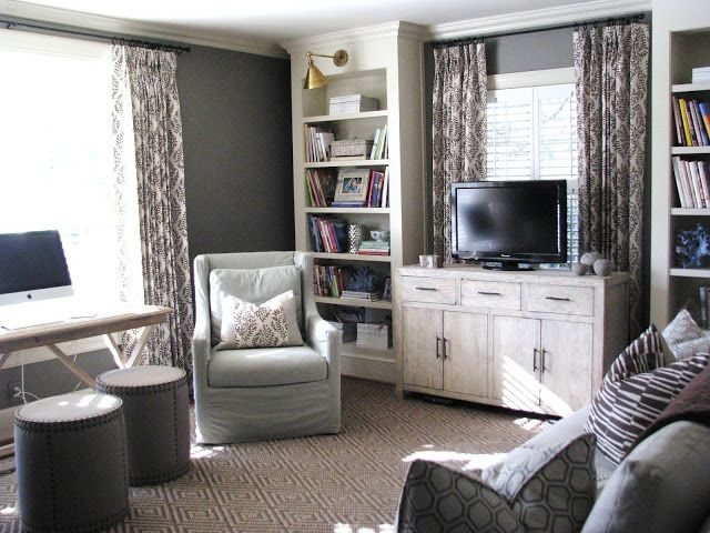 TV In Front Of Window Style Home Pinterest