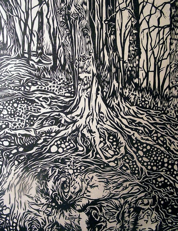 Pin by helen bell on printmaking trees flowers foliage